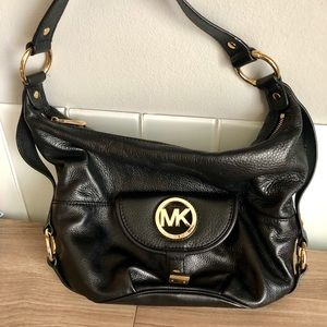Michael Kors Fulton Large Genuine Shoulder Bag